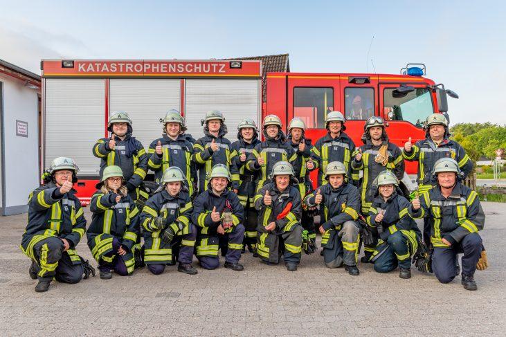 Gruppenfoto Dienst 2018