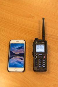 Vergleich Handy mit HRT